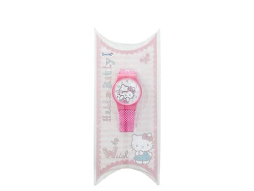 Hello Kitty Pink Bow Strap Watch